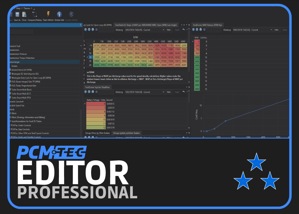 Picture of PCMTec Editor Professional